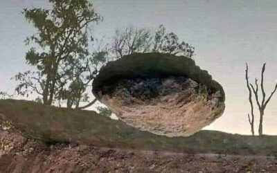 Floating Rocks and Perspective